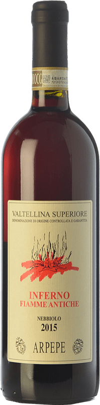 36,95 € Free Shipping | Red wine Ar.Pe.Pe. Inferno Fiamme Antiche D.O.C.G. Valtellina Superiore Lombardia Italy Nebbiolo Bottle 75 cl
