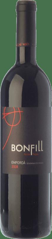 26,95 € Envío gratis | Vino tinto Arché Pagés Bonfill Joven D.O. Empordà Cataluña España Garnacha, Cabernet Sauvignon, Cariñena Botella 75 cl