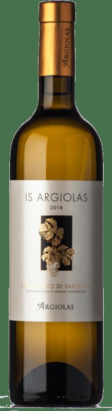 16,95 € Free Shipping   White wine Argiolas Is D.O.C. Vermentino di Sardegna Sardegna Italy Vermentino Bottle 75 cl