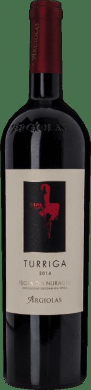 71,95 € Free Shipping   Red wine Argiolas Turriga I.G.T. Isola dei Nuraghi Sardegna Italy Carignan, Bobal, Malvasia Black, Cannonau Bottle 75 cl