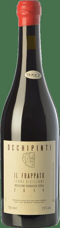 38,95 € Free Shipping | Red wine Arianna Occhipinti Frappato I.G.T. Terre Siciliane Sicily Italy Frappato di Vittoria Bottle 75 cl