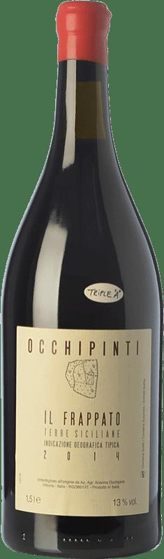 31,95 € Free Shipping | Red wine Arianna Occhipinti Frappato I.G.T. Terre Siciliane Sicily Italy Frappato di Vittoria Magnum Bottle 1,5 L