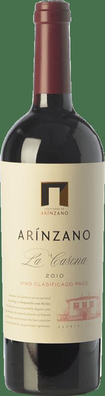 32,95 € | Red wine Arínzano La Casona Crianza D.O.P. Vino de Pago de Arínzano Navarre Spain Tempranillo, Merlot Bottle 75 cl
