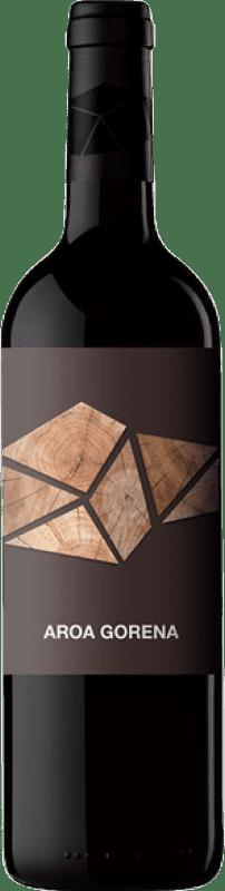 18,95 € Free Shipping | Red wine Aroa Gorena Selección Crianza D.O. Navarra Navarre Spain Merlot, Cabernet Sauvignon Bottle 75 cl