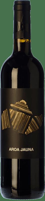 8,95 € Free Shipping | Red wine Aroa Jauna Crianza D.O. Navarra Navarre Spain Tempranillo, Merlot, Grenache, Cabernet Sauvignon Bottle 75 cl