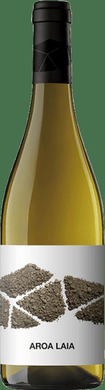 11,95 € 免费送货 | 白酒 Aroa Laia D.O. Navarra 纳瓦拉 西班牙 Grenache White 瓶子 75 cl