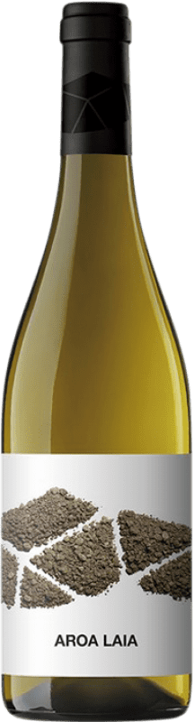 11,95 € Free Shipping | White wine Aroa Laia D.O. Navarra Navarre Spain Grenache White Bottle 75 cl