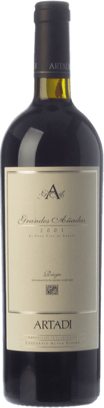 207,95 € | Red wine Artadi Grandes Añadas Reserva 1999 D.O.Ca. Rioja The Rioja Spain Tempranillo Bottle 75 cl