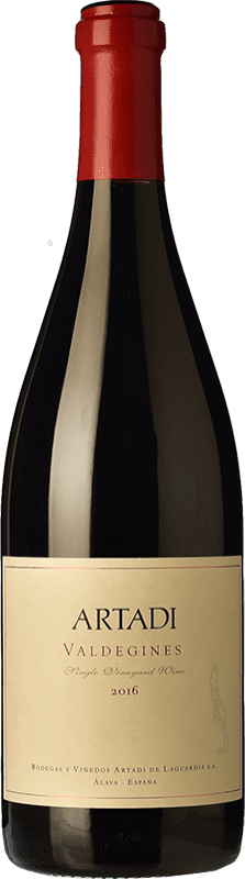 76,95 € | Red wine Artadi Valdeginés Crianza D.O.Ca. Rioja The Rioja Spain Tempranillo Magnum Bottle 1,5 L