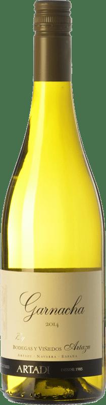9,95 € Envío gratis | Vino blanco Artazu Garnacha By Artazu D.O. Navarra Navarra España Garnacha Blanca Botella 75 cl