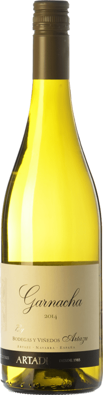 9,95 € Free Shipping | White wine Artazu Garnacha By Artazu D.O. Navarra Navarre Spain Grenache White Bottle 75 cl