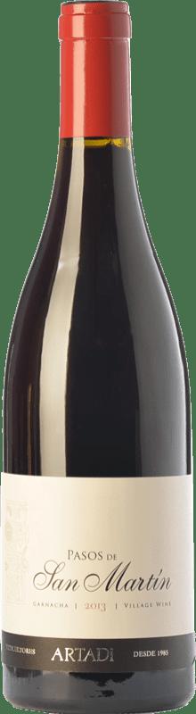44,95 € Envío gratis | Vino tinto Artazu Pasos de San Martín Crianza D.O. Navarra Navarra España Garnacha Botella Mágnum 1,5 L