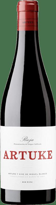 8,95 € Envoi gratuit   Vin rouge Artuke Joven D.O.Ca. Rioja La Rioja Espagne Tempranillo, Viura Bouteille 75 cl
