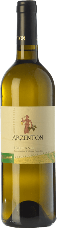 7,95 € Free Shipping | White wine Arzenton D.O.C. Colli Orientali del Friuli Friuli-Venezia Giulia Italy Friulano Bottle 75 cl