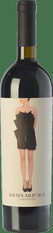 81,95 € Envío gratis | Vino tinto Arzuaga Amaya Crianza D.O. Ribera del Duero Castilla y León España Tempranillo, Albillo Botella 75 cl