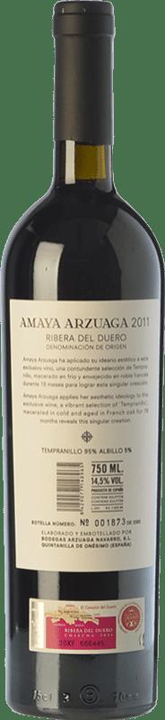 74,95 € Free Shipping | Red wine Arzuaga Amaya Crianza D.O. Ribera del Duero Castilla y León Spain Tempranillo, Albillo Bottle 75 cl