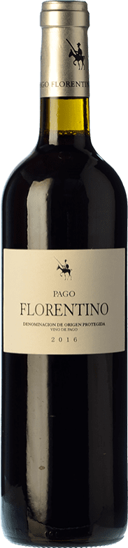 16,95 € Envío gratis | Vino tinto Arzuaga Pago Florentino Crianza D.O. Ribera del Duero Castilla y León España Cencibel Botella 75 cl
