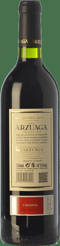 19,95 € Free Shipping | Red wine Arzuaga Crianza D.O. Ribera del Duero Castilla y León Spain Tempranillo, Merlot, Cabernet Sauvignon Bottle 75 cl