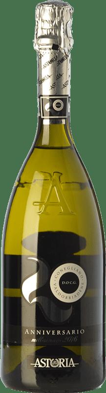 22,95 € Envoi gratuit | Blanc moussant Astoria Anniversario D.O.C.G. Prosecco di Conegliano-Valdobbiadene Trévise Italie Glera Bouteille 75 cl