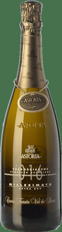 24,95 € Envoi gratuit | Blanc moussant Astoria Millesimato D.O.C.G. Prosecco di Conegliano-Valdobbiadene Trévise Italie Glera Bouteille 75 cl