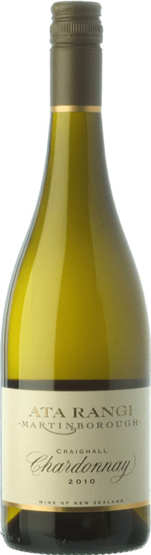 75,95 € | White wine Ata Rangi Craighall Crianza I.G. Martinborough Martinborough New Zealand Chardonnay Bottle 75 cl