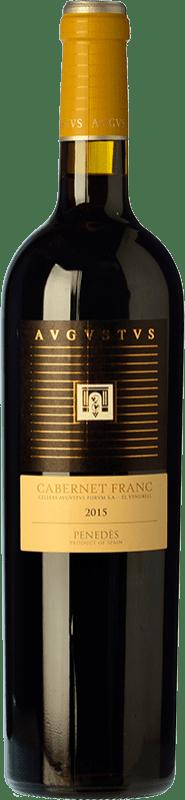 14,95 € Free Shipping | Red wine Augustus Crianza D.O. Penedès Catalonia Spain Cabernet Franc Bottle 75 cl