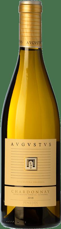 19,95 € Envío gratis | Vino blanco Augustus Crianza D.O. Penedès Cataluña España Chardonnay Botella 75 cl