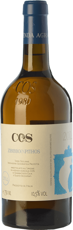 25,95 € | White wine Cos Zibibbo in Pithos I.G.T. Terre Siciliane Sicily Italy Muscat of Alexandria Bottle 75 cl
