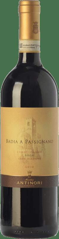 34,95 € Free Shipping | Red wine Badia a Passignano Gran Selezione D.O.C.G. Chianti Classico Tuscany Italy Sangiovese Bottle 75 cl
