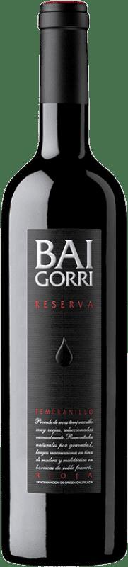 19,95 € 免费送货   红酒 Baigorri Reserva D.O.Ca. Rioja 拉里奥哈 西班牙 Tempranillo 瓶子 75 cl