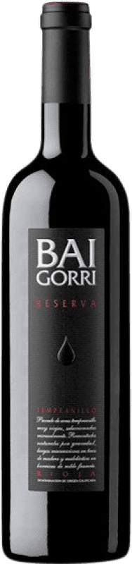 19,95 € Free Shipping | Red wine Baigorri Reserva D.O.Ca. Rioja The Rioja Spain Tempranillo Bottle 75 cl