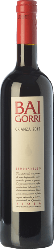 12,95 € Free Shipping | Red wine Baigorri Crianza D.O.Ca. Rioja The Rioja Spain Tempranillo Jéroboam Bottle-Double Magnum 3 L