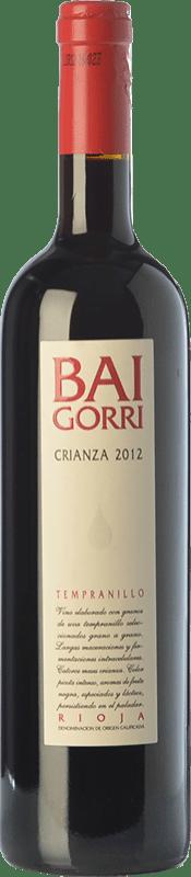 12,95 € Envío gratis | Vino tinto Baigorri Crianza D.O.Ca. Rioja La Rioja España Tempranillo Botella Jéroboam-Doble Mágnum 3 L