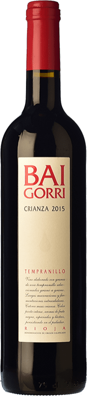 29,95 € Free Shipping | Red wine Baigorri Crianza D.O.Ca. Rioja The Rioja Spain Tempranillo Magnum Bottle 1,5 L