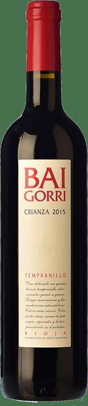 29,95 € Envío gratis | Vino tinto Baigorri Crianza D.O.Ca. Rioja La Rioja España Tempranillo Botella Mágnum 1,5 L