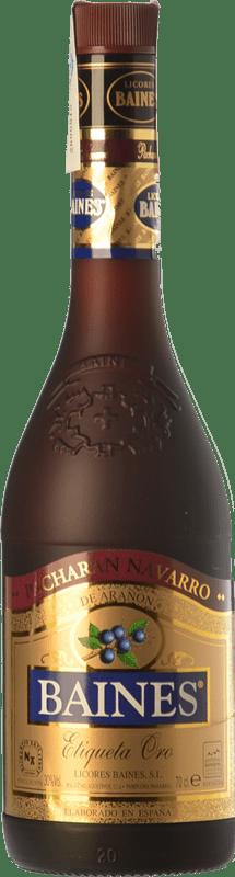 19,95 € 免费送货 | Pacharán Baines Oro 纳瓦拉 西班牙 瓶子 70 cl