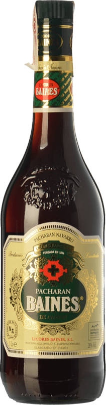 16,95 € Free Shipping | Pacharán Baines Navarre Spain Missile Bottle 1 L