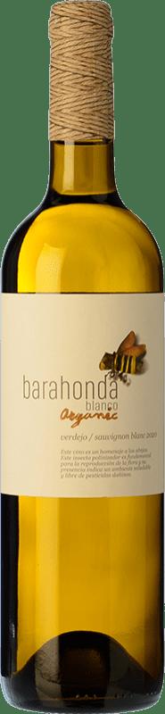 4,95 € 免费送货 | 白酒 Barahonda Joven D.O. Yecla 穆尔西亚地区 西班牙 Macabeo, Verdejo 瓶子 75 cl