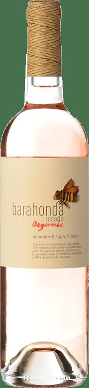 5,95 € 免费送货 | 玫瑰酒 Barahonda D.O. Yecla 穆尔西亚地区 西班牙 Monastrell 瓶子 75 cl