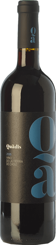 8,95 € | Red wine Barbadillo Quadis Joven I.G.P. Vino de la Tierra de Cádiz Andalusia Spain Tempranillo, Merlot, Syrah, Tintilla de Rota Bottle 75 cl