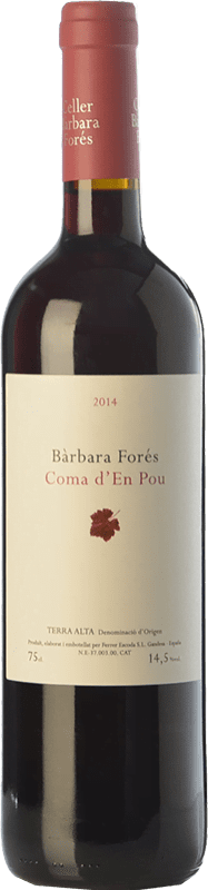 97,95 € Free Shipping | Red wine Bàrbara Forés Coma d'en Pou Crianza D.O. Terra Alta Catalonia Spain Syrah, Grenache, Carignan Jéroboam Bottle-Double Magnum 3 L