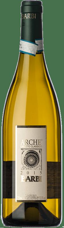 13,95 € Free Shipping | White wine Barbi Classico Archè D.O.C. Orvieto Umbria Italy Chardonnay, Sauvignon, Procanico, Grechetto Bottle 75 cl