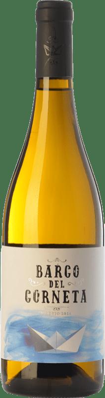 22,95 € Free Shipping | White wine Barco del Corneta Crianza I.G.P. Vino de la Tierra de Castilla y León Castilla y León Spain Verdejo Bottle 75 cl