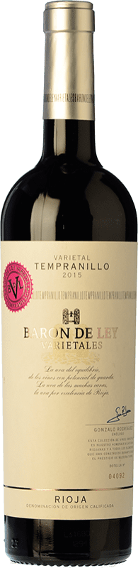 11,95 € | Red wine Barón de Ley Varietales Crianza D.O.Ca. Rioja The Rioja Spain Tempranillo Bottle 75 cl