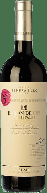 11,95 € Envío gratis   Vino tinto Barón de Ley Varietales Crianza D.O.Ca. Rioja La Rioja España Tempranillo Botella 75 cl