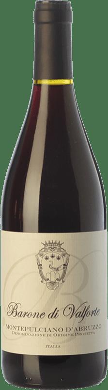 8,95 € Free Shipping | Red wine Barone di Valforte D.O.C. Montepulciano d'Abruzzo Abruzzo Italy Montepulciano Bottle 75 cl