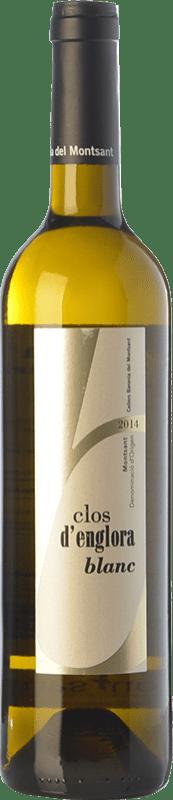 8,95 € Free Shipping | White wine Baronia Clos d'Englora Blanc Crianza D.O. Montsant Catalonia Spain Grenache White, Viognier Bottle 75 cl
