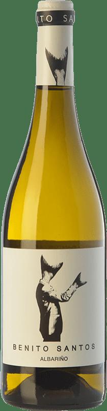 8,95 € Envío gratis | Vino blanco Benito Santos D.O. Rías Baixas Galicia España Albariño Botella 75 cl
