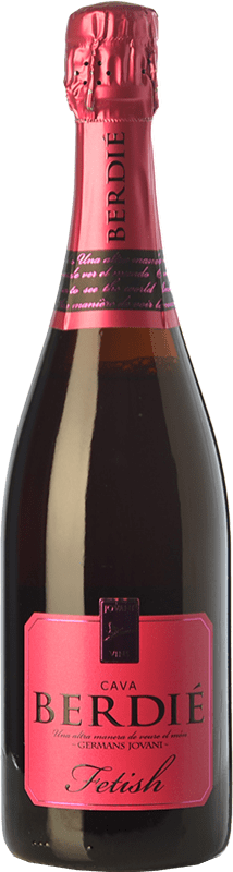 15,95 € Free Shipping | White sparkling Berdié Fetish Brut Reserva D.O. Cava Catalonia Spain Grenache, Monastrell Bottle 75 cl
