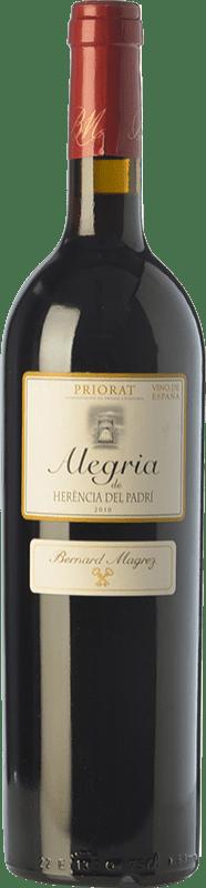 27,95 € | Red wine Bernard Magrez Alegria de Herència del Padrí Crianza D.O.Ca. Priorat Catalonia Spain Merlot, Syrah, Grenache, Cabernet Sauvignon, Carignan Bottle 75 cl